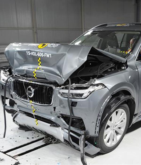 Nya Volvo XC90 bäst någonsin i Euro NCAP