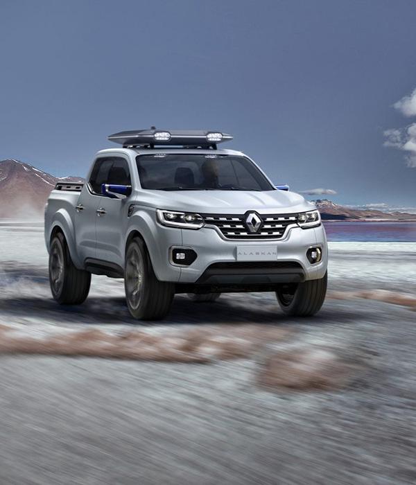 Renault introducerar Alaskan; en ny pick up