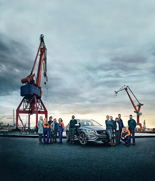 Volvo Cars hyllar mångfalden i företaget i ny XC60-kampanj